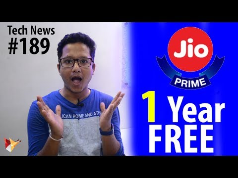 Tech News of The Day #189 - Jio 1 Year Free,InFocus Turbo 5,Xiaomi Toothbrush,Snapdragon 450