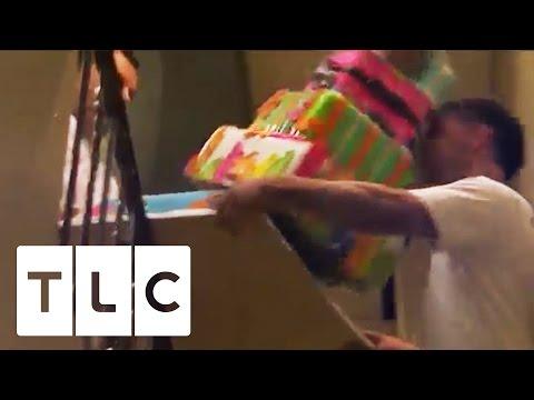 Amazing Cake Falls Down The Stairs | Cake Boss