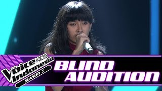 Video Ninaya - Mercy | Blind Auditions | The Voice Kids Indonesia Season 3 GTV 2018 MP3, 3GP, MP4, WEBM, AVI, FLV Juli 2018