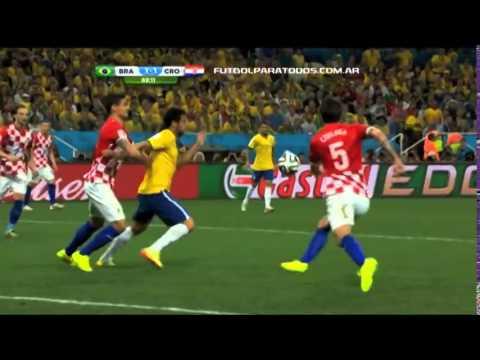 Brasil 3 Croacia 1 видео