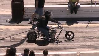 Mini Bike Drag Racing Barona Drag Strip 3-23-2013