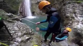 Petit mix du canyon du Versoud (Vercors)