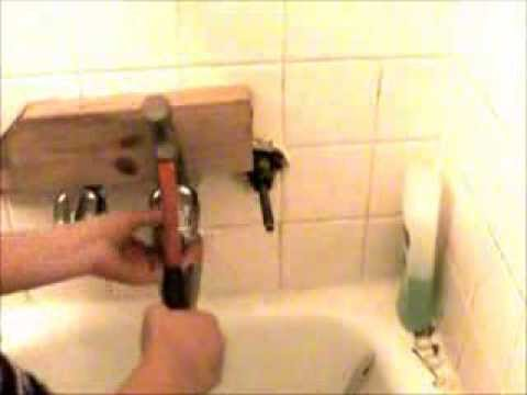 Fix repair Leaking leaky bath shower faucet- how to remove faucet cap