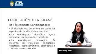 UTPL PSICOSIS Y DELITO [(CIENCIAS JURÍDICAS)(CIENCIAS PENALES)]