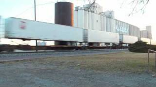 Hereford (TX) United States  city photos : BNSF Intermodal Train Hereford, TX
