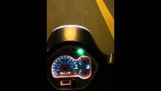 2. Vespa GT 200 Speedtest 0-100 kmh / 0-60 mph