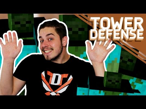 WIJ GAAN 12 GIANTS STUREN!! - Minecraft Tower Defense #29