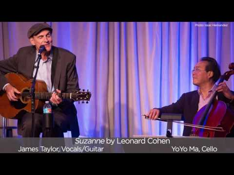 """Suzanne"" by Leonard Cohen – James and Yo-Yo Ma"