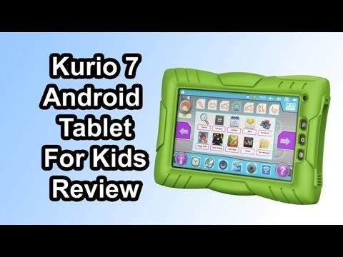 Kurio 7 review - The Android tablet for kids (Zoomingames)