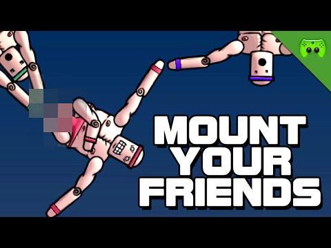 MOUNT YOUR FRIENDS # 3 - Sprunghafte Klöten «» Let's Play Mount Your Friends | HD