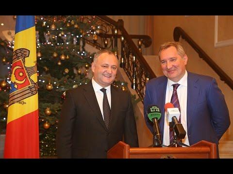 Igor Dodon s-a întîlnit cu Dmitri Rogozin