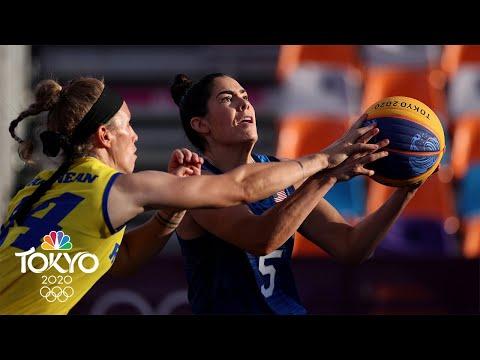 USA vs. Romania | Tokyo Olympics 2020: Women's 3x3 Basketball Highlights | NBC Sports