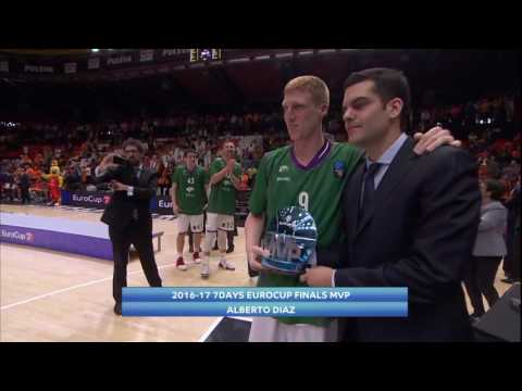 7DAYS EuroCup Finals MVP: Alberto Diaz, Unicaja Malaga