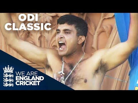 One Of The Greatest ODI Matches Ever | England v India NatWest Series Final 2002 - Full Highlights