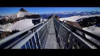 Les Diablerets Switzerland  City new picture : Peak Walk Les Diablerets Glacier 3000