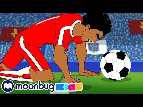 Game Over - SUPA STRIKAS Season 7   Football Cartoon