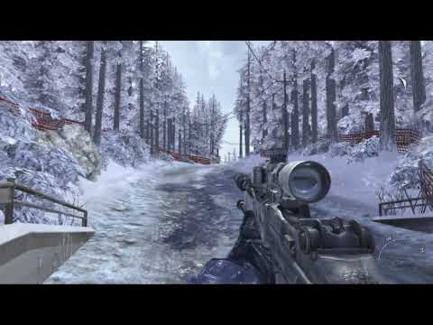 Call Of Duty: Modern Warfare 2 - Some wintertime sniping from a level in Call of Duty: Modern Warfare 2. Note - this video does contain a small spoiler for fans, but likely something you alr...