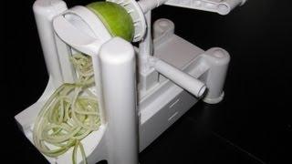 *World Cuisine Spiral Vegetable Slicer* - Raw Apple Slaw Recipe