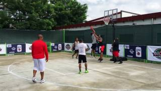 Highlights from our 1st anniversary King of the Court Tournament. Old Headz forced a game 2 in an exciting finals, but Blackjack...