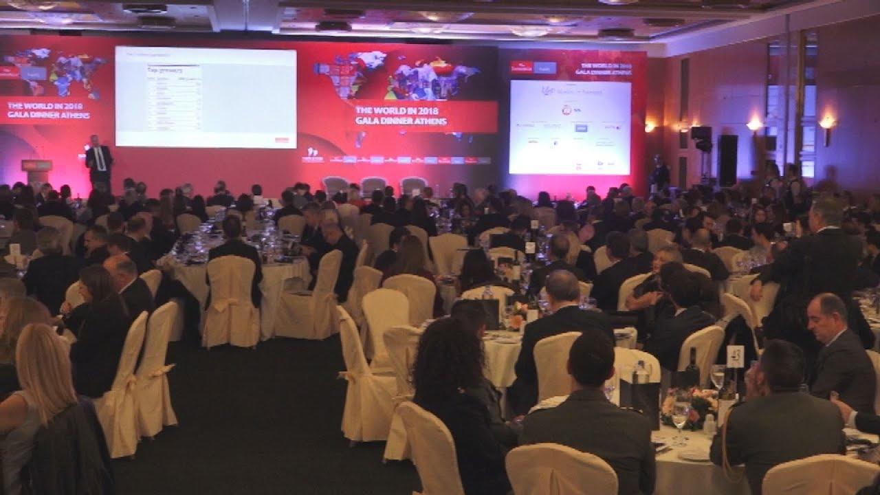 Για την ανάγκη αύξησης του κατώτατου μισθού μίλησε η Έφη Αχτσιόγλου, σε εκδήλωση του Economist