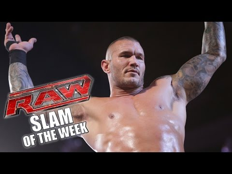 Oh - Randy Orton executes one of most unbelievable RKO's on Raw. See FULL episodes of Raw on WWE NETWORK: http://bit.ly/1wJ13X0 Don't forget to SUBSCRIBE: http://bit.ly/1i64OdT.