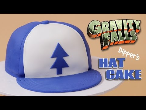 GRAVITY FALLS DIPPER'S HAT CAKE – NERDY NUMMIES