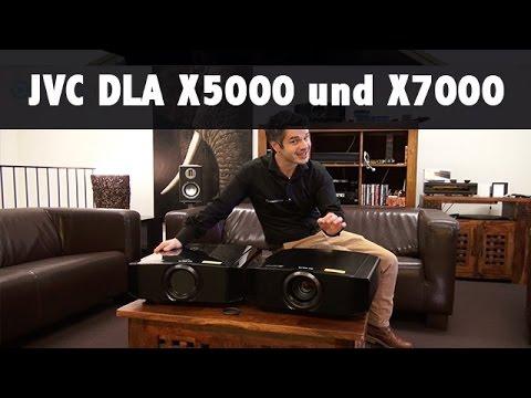 Vorstellung JVC DLA X5000 und X7000 / Beamer Test Bericht auch mit UHD Material