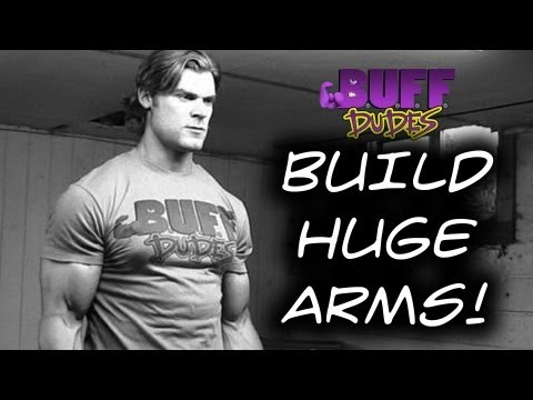 BICEPS - BUFF DUDES T-SHIRTS! http://store.buff-dudes.com The Buff Dudes are back with episode two, and this one focuses on Biceps. Brandon Myles White takes us throu...