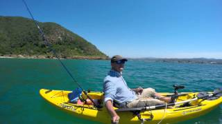 Sedgefield South Africa  City pictures : Garrick ( Leervis ) fishing - Sedgefield / Knysna Lagoon - South Africa