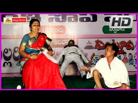 Hilarious Jabardasth Comedy Show - Guntur Humour Club Part-1(HD)