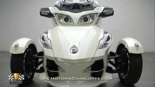 6. 133115 / 2012 Can Am Spyder RT-Limited