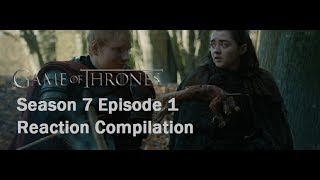 Game of Thrones Season 7 Episode 1 'Dragonstone' Reactions Compilation Reactors featured on Game of Thrones Season 7 Episode 1 'Dragonstone' My Name is Simon...