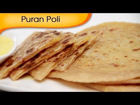 Puran Poli Recipe | How To Make Puran Poli | Holi Special | Indian Sweets Recipe | Ruchi Bharani