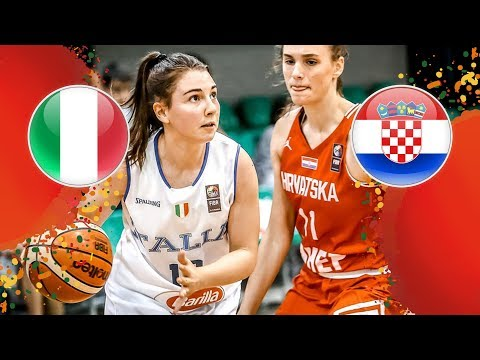 Italy V Croatia - Full Game - FIBA U16 Women's European Championship 2018
