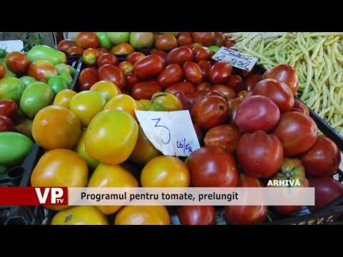 Programul pentru tomate, prelungit