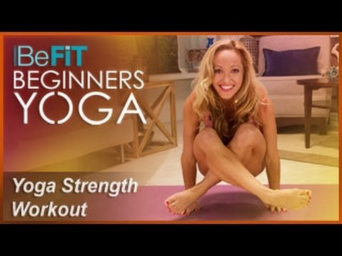 BeFiT Beginners Yoga: Beginners Yoga for Strength Workout | Level 2- Kino MacGregor
