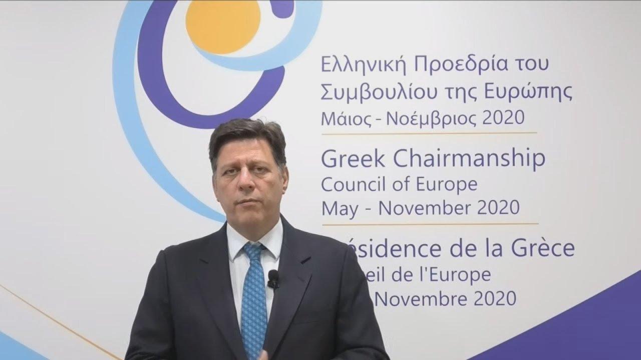 Τοποθέτηση του Μ. Βαρβιτσιώτη στη συζήτηση της Ελληνικής Προεδρίας του Συμβουλίου της Ευρώπης