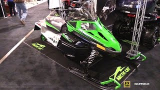 1. 2015 Arctic Cat Lynx 2000 Trail Snowmobile - Walkaround - 2014 Toronto ATV Show