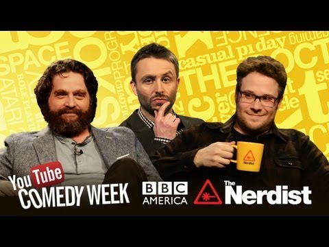 Seth Rogen, Zach Galifianakis & Chris Hardwick Play BBC-een It: The Nerdist on BBCA - Comedy Week
