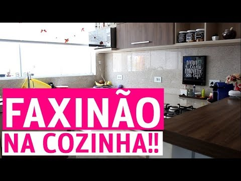 LIMPANDO A COZINHA  FAXINÃO DE FIM DE ANO!!