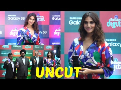 UNCUT: Launch Of Samsung S-8 Mobile With Vaani Kapoor