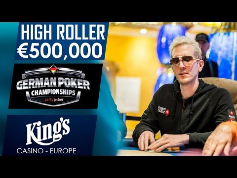 HighRoller final day with ElkY & Tony G | partypoker German Championship | King's Casino 2017