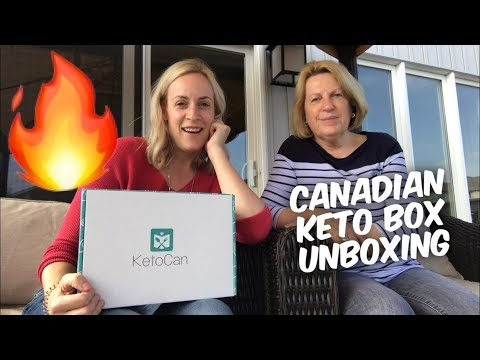Atkins diet - Canadian Keto Subscription Box Unboxing - KetoCan