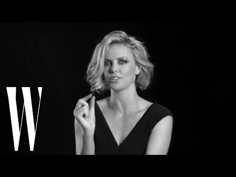 Charlize Theron on Missing Her Front Teeth and Wearing Cutlets | Screen Tests | W Magazine