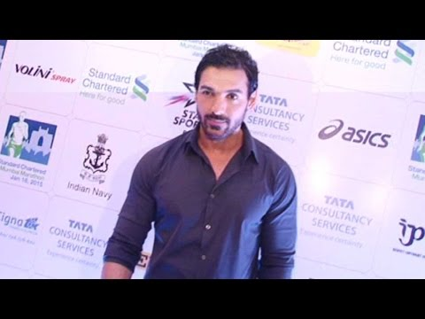 John Abraham In Support Of SCMM Charity Awards 201
