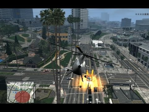 GTA IV - Los Santos map + V Style mods - ViIV map mod alpha release