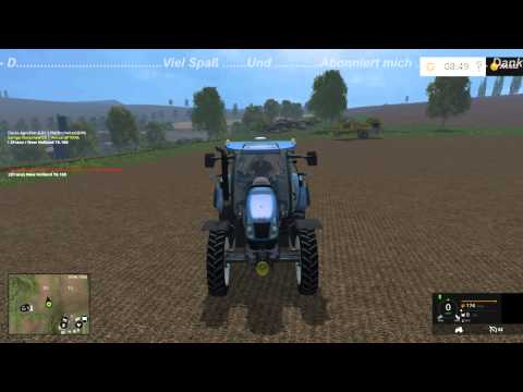 New Holland T6.160 replaceable tires v1.05