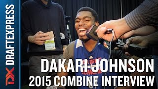 Dakari Johnson 2015 NBA Draft Combine Interview