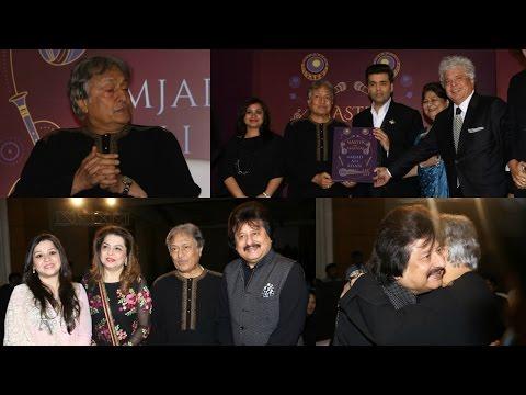Ustad Amjad Ali khan Book Master On Masters Release By Karan Johar