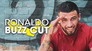 Mens hairstyles 2017 Cristiano Ronaldo Buzz Cut & Signatur razored line.★ Shop online! http://www.SlikhaarShop.com ★1: https://youtu.be/-HEi5GPvxYU 0,4 views2: https://youtu.be/8SDYF89Doro 2,8 views3: https://youtu.be/N6ONC6b6KzI 10mio viewsIn the video our good friend and Hair model Türker, is having his hair cut with inspiration from the famous hair icon Cristiano Ronaldo. The new cristiano hair cut is iconic, because it is a fusion between a Buzz cut and a Crew cut. Once again we can confirm Cristiano Ronaldo really is a trendsetter when it comes to spectacular hairstyles.We think Ann-Sofie nailed the hair cut, and we are looking forward to show you more iconic hairstyles in the future. Keep you hair cool. Follow, like, share and more: ⇨ Subscribe! http://bit.ly/SlikhaarTV⇨ Snapchat: SlikhaarTV⇨ Facebook: https://www.facebook.com/SlikhaarTVGroup⇨ Instagram: https://www.instagram.com/slikhaartv/⇨ Blog: http://www.slikhaarshop.com/news ⇨ Newsletter: http://eepurl.com/B6MqjWin products, give us your feedback in the comment section and be notified in next episodes description if we chose your comment.HAIRCUT MEASUREMENTSSides: 6mmBackhead: 6mmFringe / top front: Finger Short 1,5-2cmTop back: 6mmPlease let us know what other videos you'd like us to make, in the comment section.PRODUCTS USED☆ By Vilain SKYLINEhttps://www.slikhaarshop.com/catalogsearch/result/?q=skyline☆ By Vilain FREESTYLERhttps://www.slikhaarshop.com/catalogsearch/result/?q=freestyler☆ By Vilain POWERMADEhttps://www.slikhaarshop.com/powermade-pomade/Music by:1: Aero Chord & Anuka - Incomplete https://youtu.be/mh1KE67qASc2: Niviro - You https://youtu.be/2Nv5juZKhKoLocation: Slikhaar Studio Mejlgade 37 8000 Aarhus CHairdresser: Ann-sofie axelsenModel: Turker - FitByTurkerBest regardsEmil & Rasmus Vilain AlbrechtsenSLIKHAAR TV TEAMSend all requests to: info@slikhaarshop.com♥ Slikhaar TV is a hairstyling channel for men founded by the twin brothers Emil & Rasmus. We give you new hairstyle inspiration every week: Tutorials, how-to videos, celebrity and footballer hairstyles, and professional tips to optimize your hair and overall style.